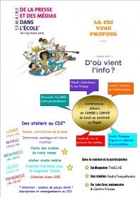 Semaine de la presse au Lycée L Querbes