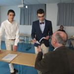 PDG et DG présentent les premières actions de JRB France
