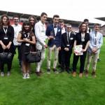 L'équipe remporte le premier prix sur le stade Ernest Vallon à Toulouse